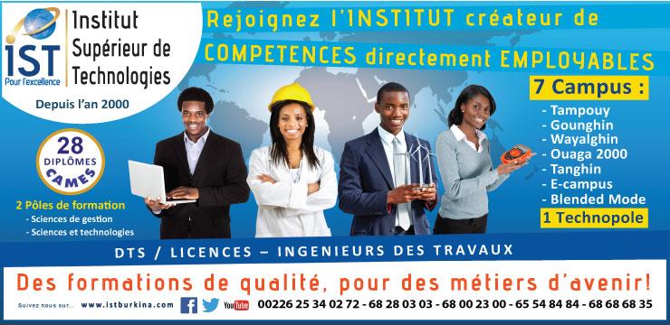 Rejoignez l'IST pour l'excellence!